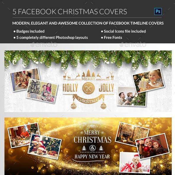 Facebook Christmas Cover