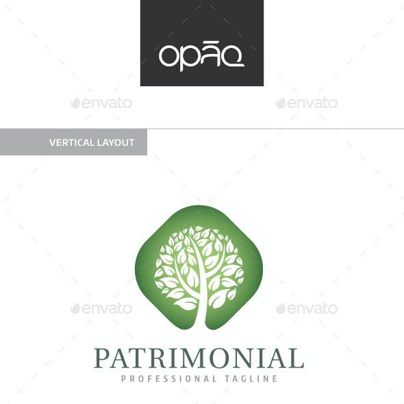 Patrimonial Tree Logo