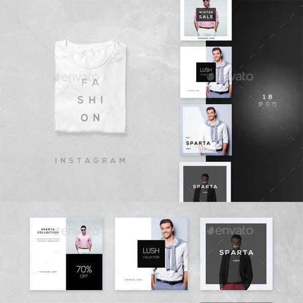 Fashion Instagram - 18 Designs