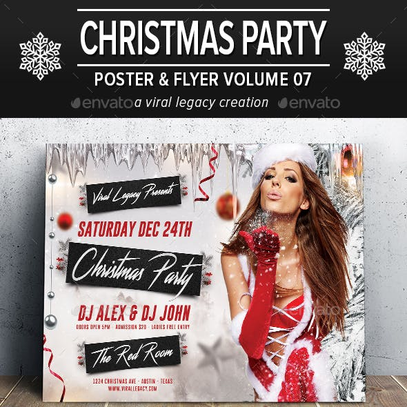 Christmas Party Poster / Flyer V07