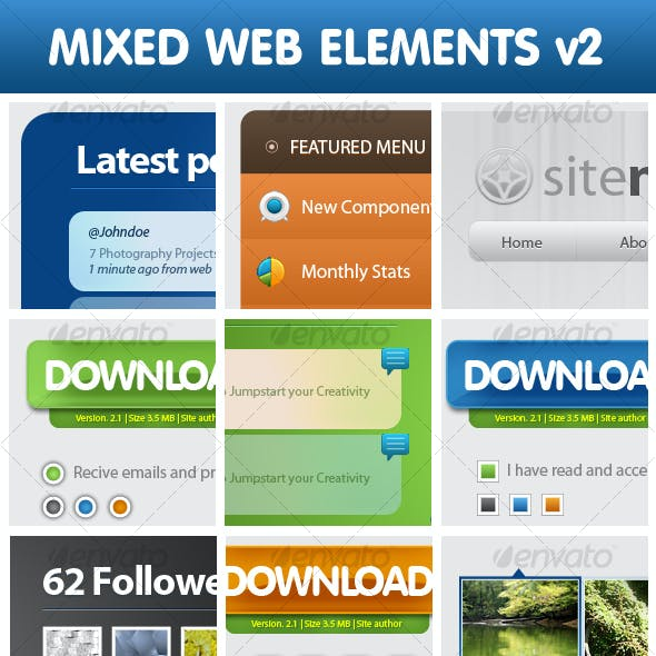 Mixed Web Elements v2