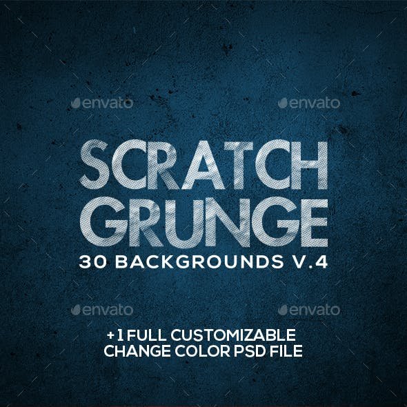 Scratch Grunge Backgrounds V.4