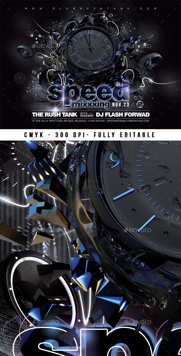 Speed Mixing - Clubs & Parties Events