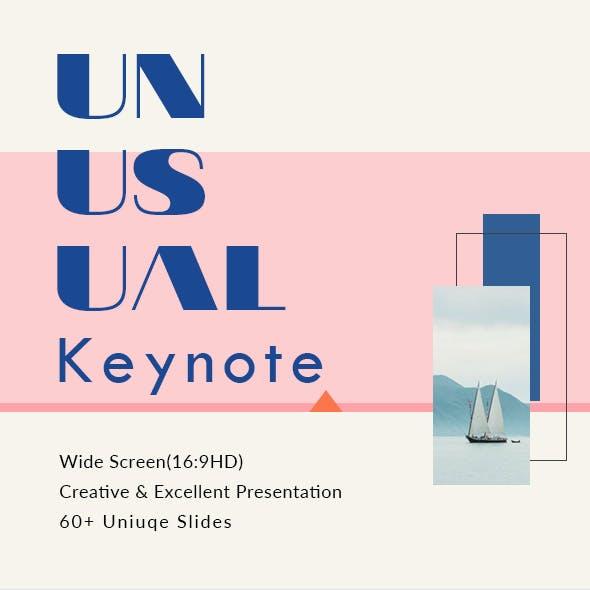 Unusual - Keynote Presentation Template