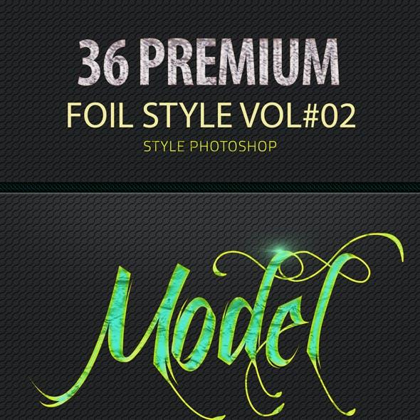 36 Premium Foil Style Vol 02