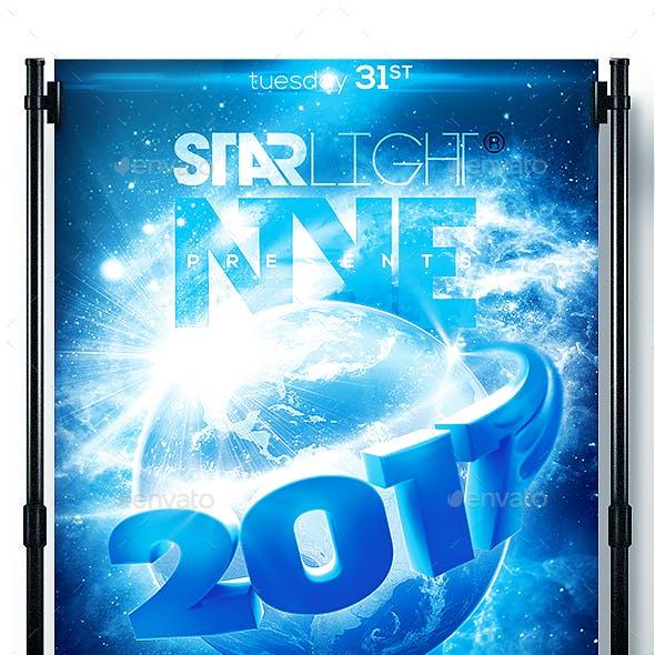 NYE Around The World New Year Flyer 2017