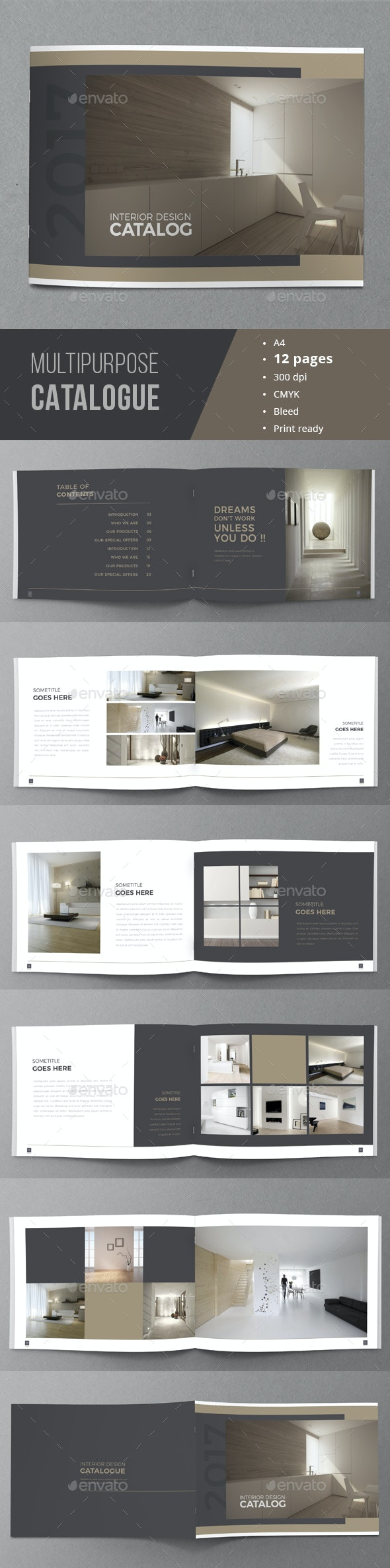 Minimal Catalogue Brochure - Catalogs Brochures