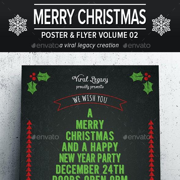 Merry Christmas Poster / Flyer V02