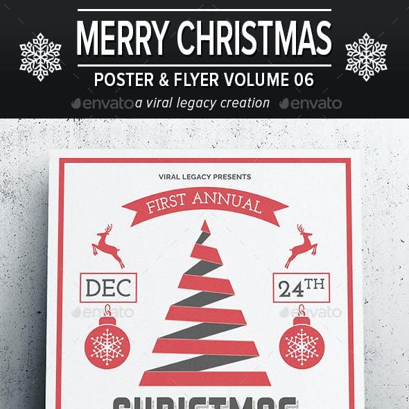 Merry Christmas Poster / Flyer V06
