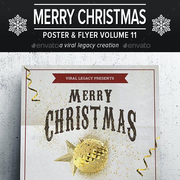 Merry Christmas Poster / Flyer V11