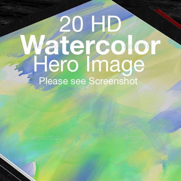 Watercolor Hero Image