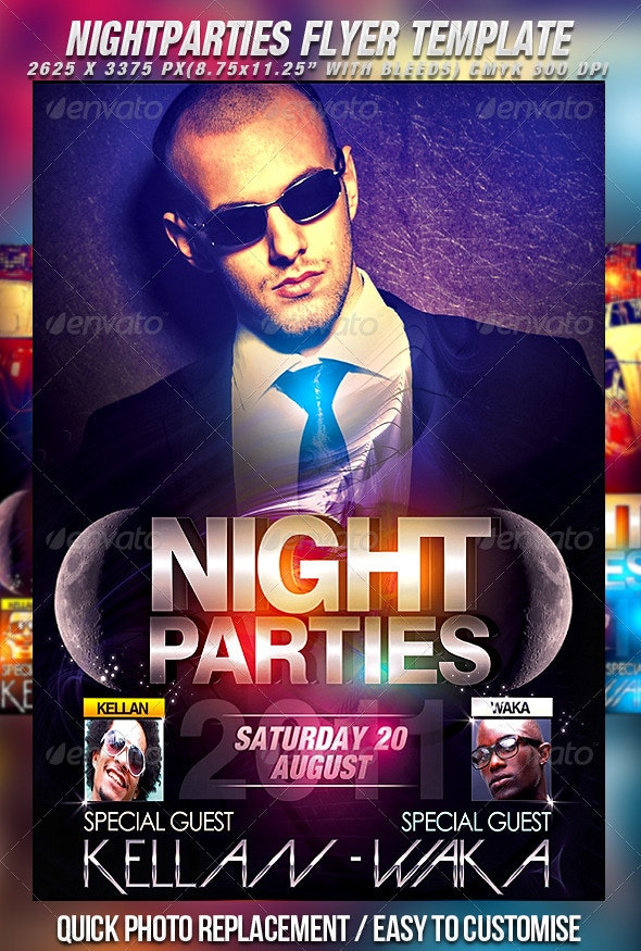 Flyer Series Vol.9 - Clubs & Parties Events