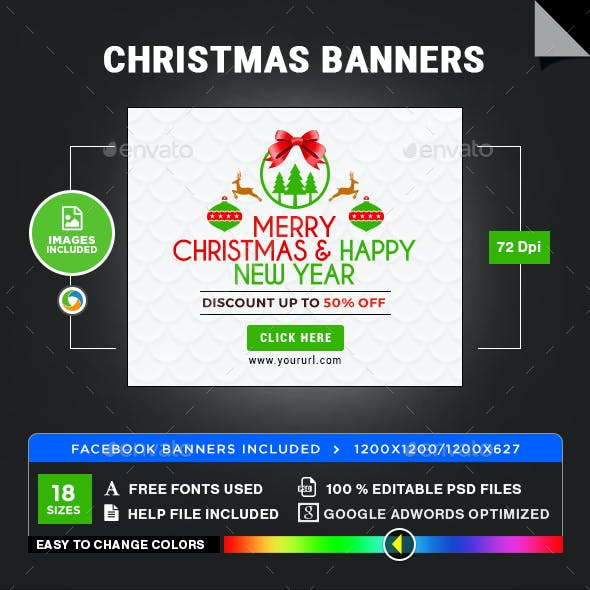 Christmas Banners - Image Included