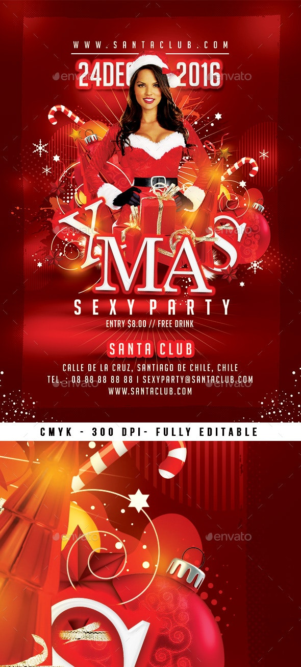 Xmas Flyer - Clubs & Parties Events
