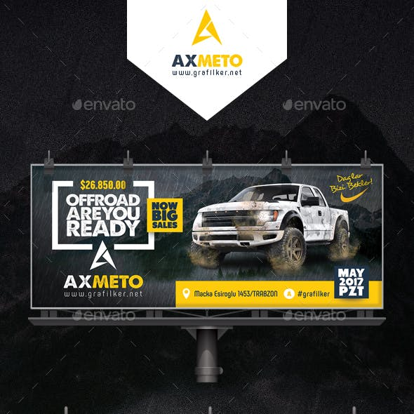 Off-Road Adventure Billboard Templates