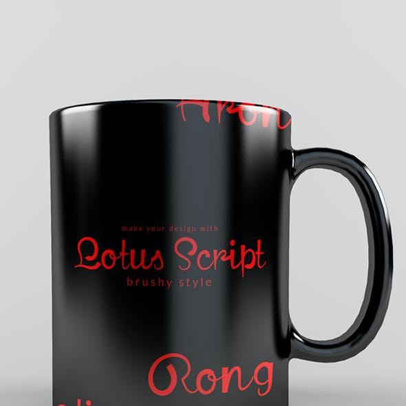 Lotus Script Font
