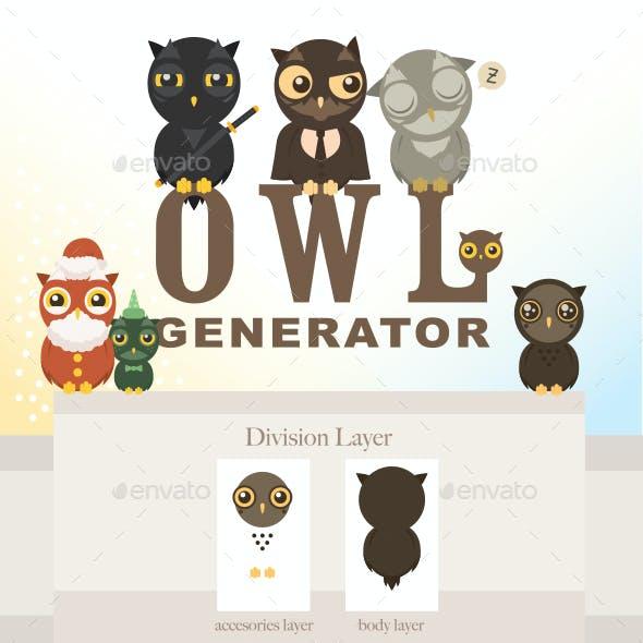 Owl Generation - Owl Generator