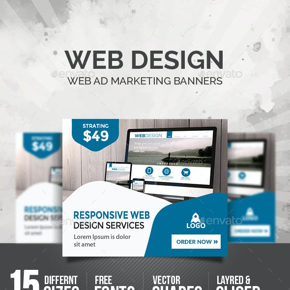 Web Design Banners