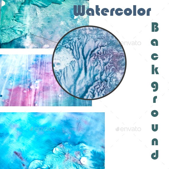 Watercolor Set Texture
