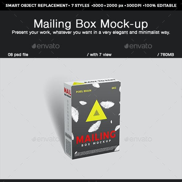Mailing Box Mock-up
