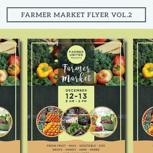 Farmer Market Flyer Vol.2