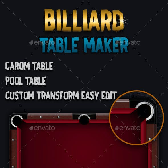 Billiards Table Maker