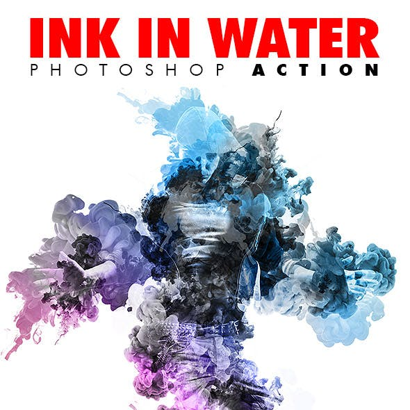 Ink In Water V.1 Photoshop Action