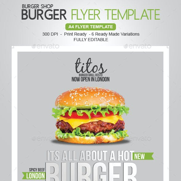 Burger / Grill Flyer