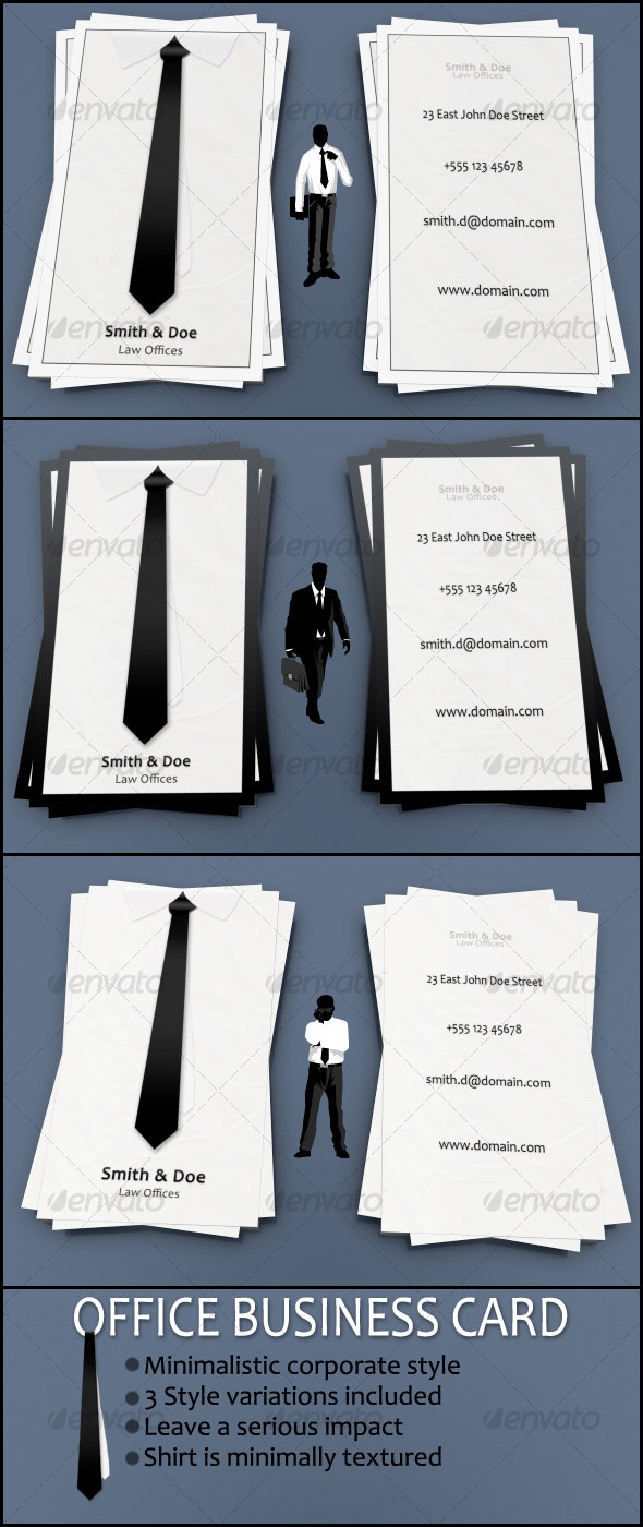 Office business card - Industry Specific Business Cards