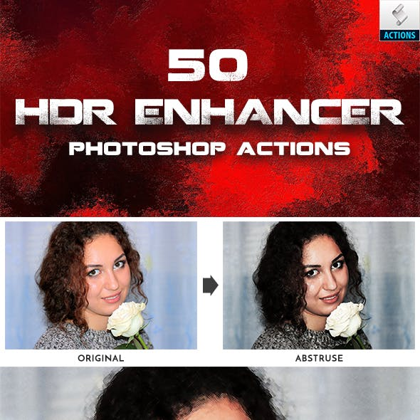 HDR Enhancer Photoshop Actions