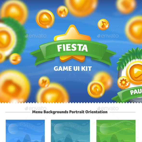 Fiesta Game UI Kit