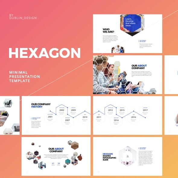 Hexagon Keynote Template