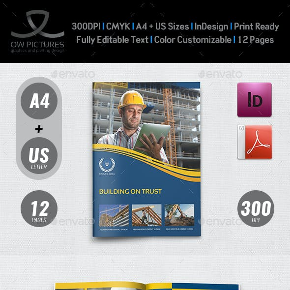 Construction Brochure Template Vol.3