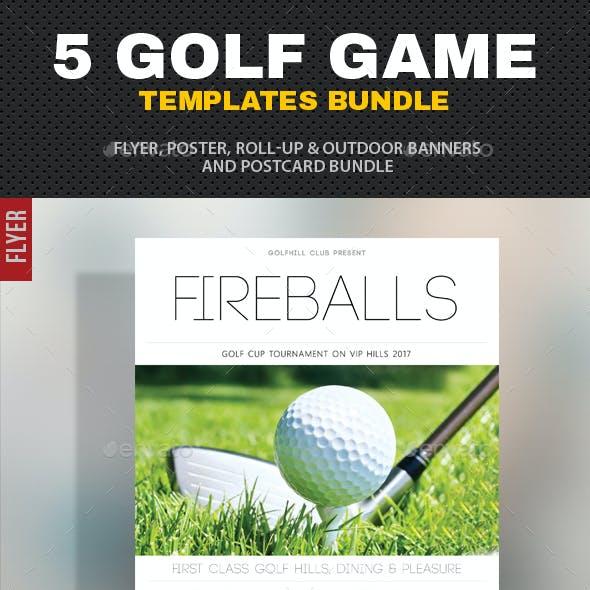 5 in 1 Golf Game Bundle