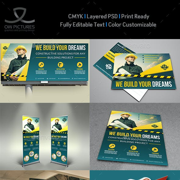 Construction Advertising Bundle Vol.4