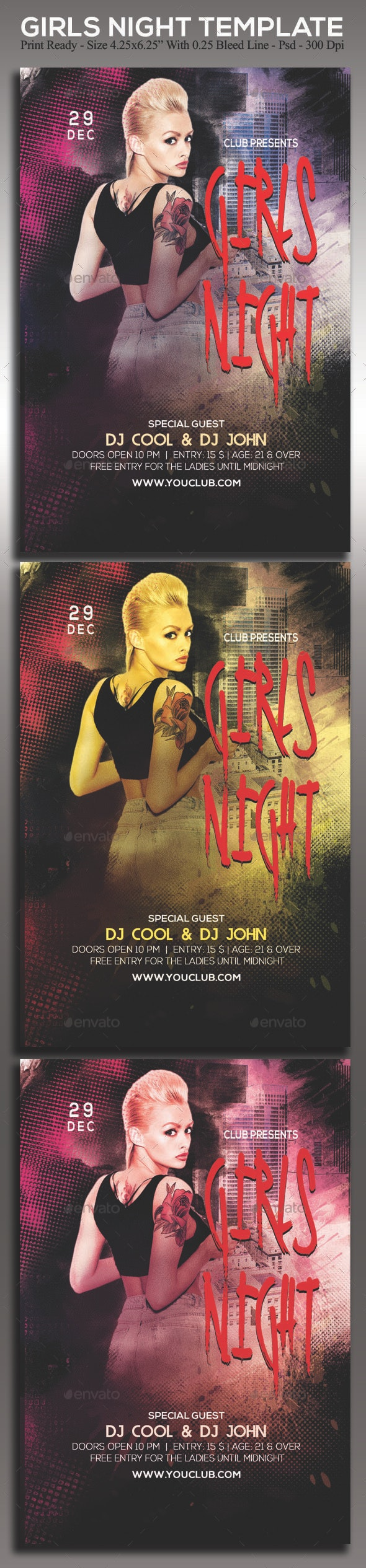 Girls Night - Clubs & Parties Events