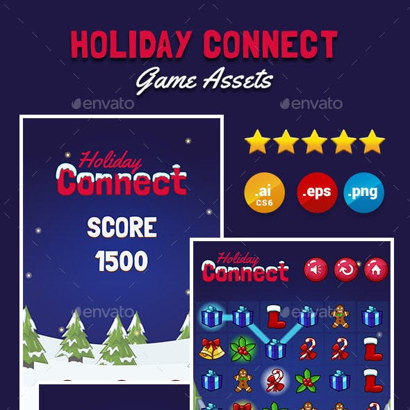 Holiday Connect Game Kit