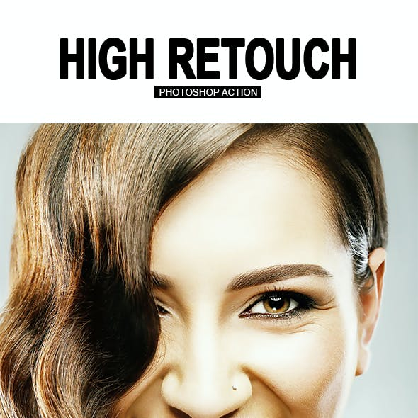 Smooth High Retouch Photoshop Action