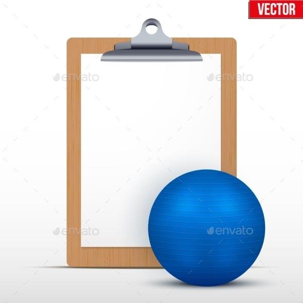Coaching Blank Clipboard