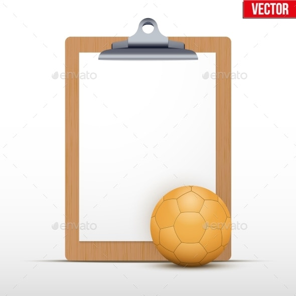 Coaching Blank Clipboard - Miscellaneous Vectors