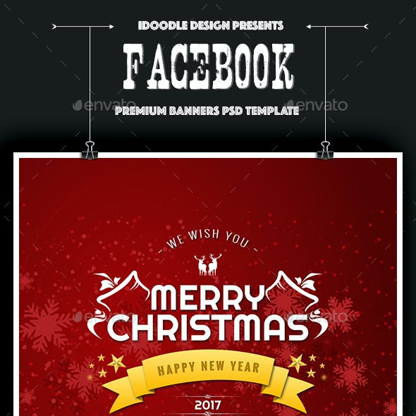 Facebook Covers Christmas - 08 PSD