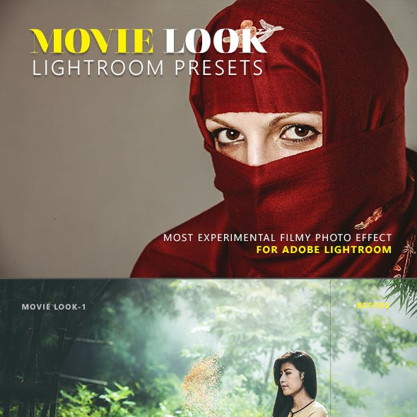 Movie Look Lightroom Presets