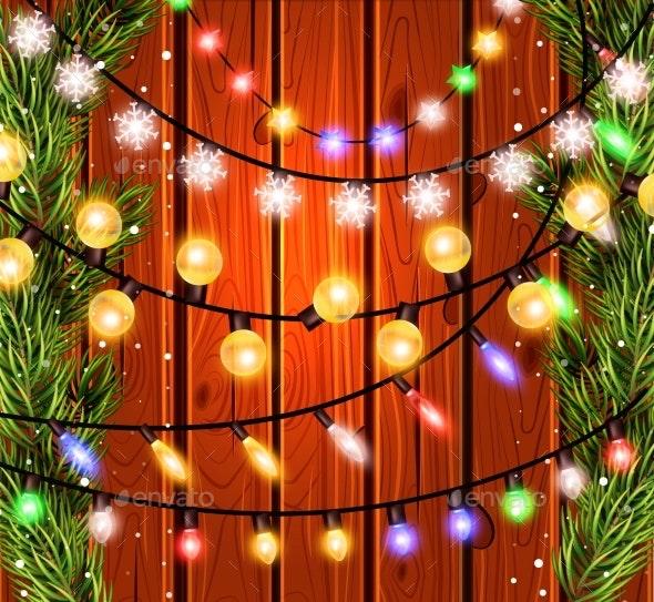Christmas Decorations - Backgrounds Decorative