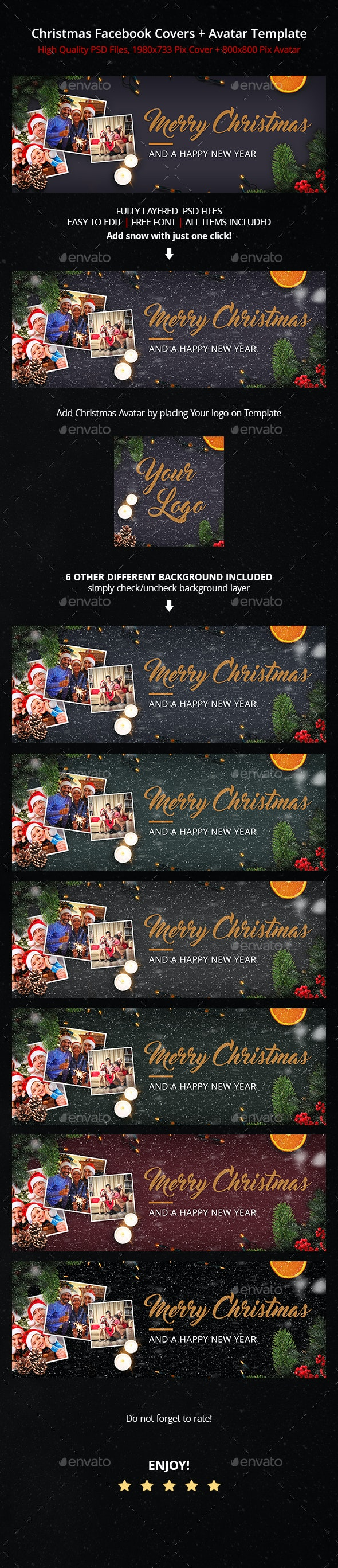Family Christmas   Facebook Cover - Facebook Timeline Covers Social Media