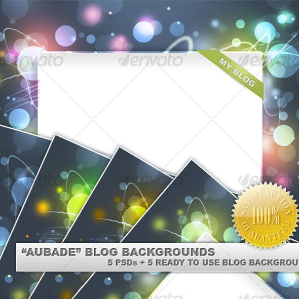 Aubade Blog Backgrounds