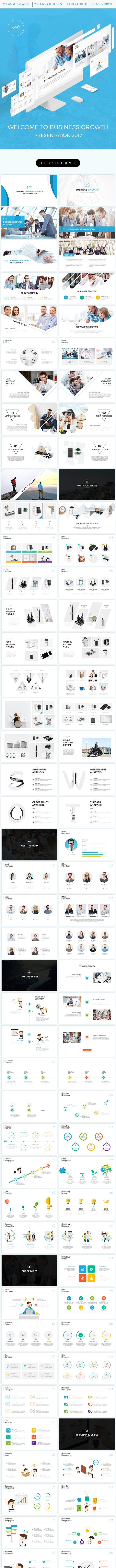 Business Growth Powerpoint Template - PowerPoint Templates Presentation Templates