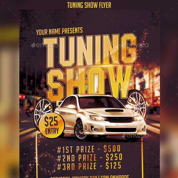 Tuning Show Flyer