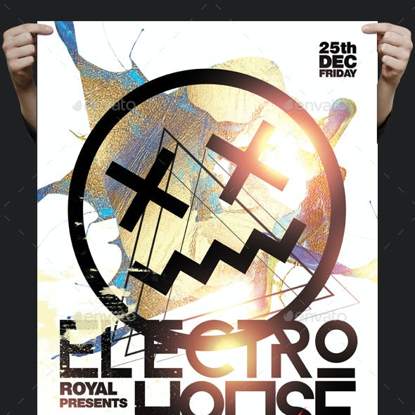 Electro House Mix Flyer
