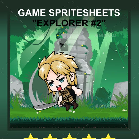 The Explorer #2 Sprite Character