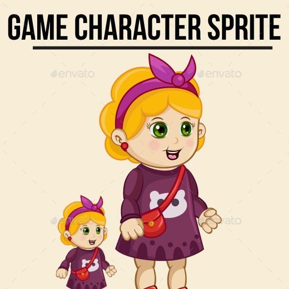 Little Girl #2 Sprite Character